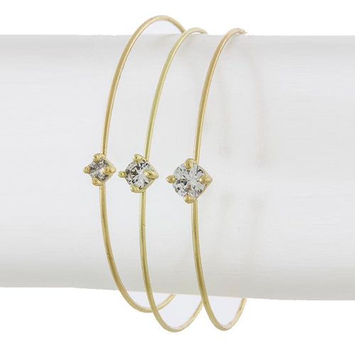 Crystal Prong Bracelet - Jewelry Buzz Box  - 2