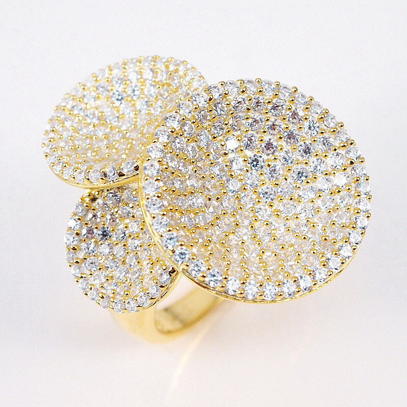 Diva Disk Ring - Jewelry Buzz Box  - 2