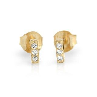 Bar Stud Earrings - Jewelry Buzz Box  - 3