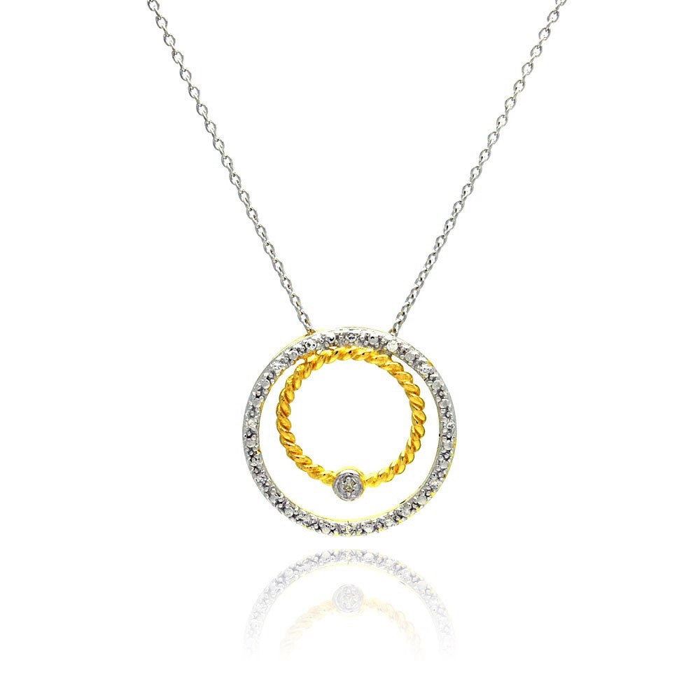 Orbiting Necklace - Jewelry Buzz Box