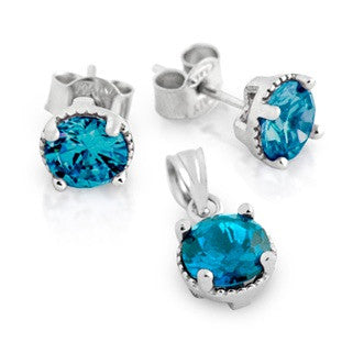 December Birthstone Set - Jewelry Buzz Box  - 1
