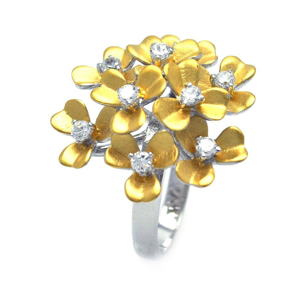 Flower Bouquet Ring - Jewelry Buzz Box