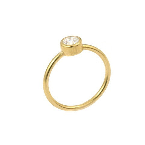 Forward Gold Ring - Jewelry Buzz Box  - 1