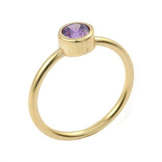 Forward Gold Ring - Jewelry Buzz Box  - 5