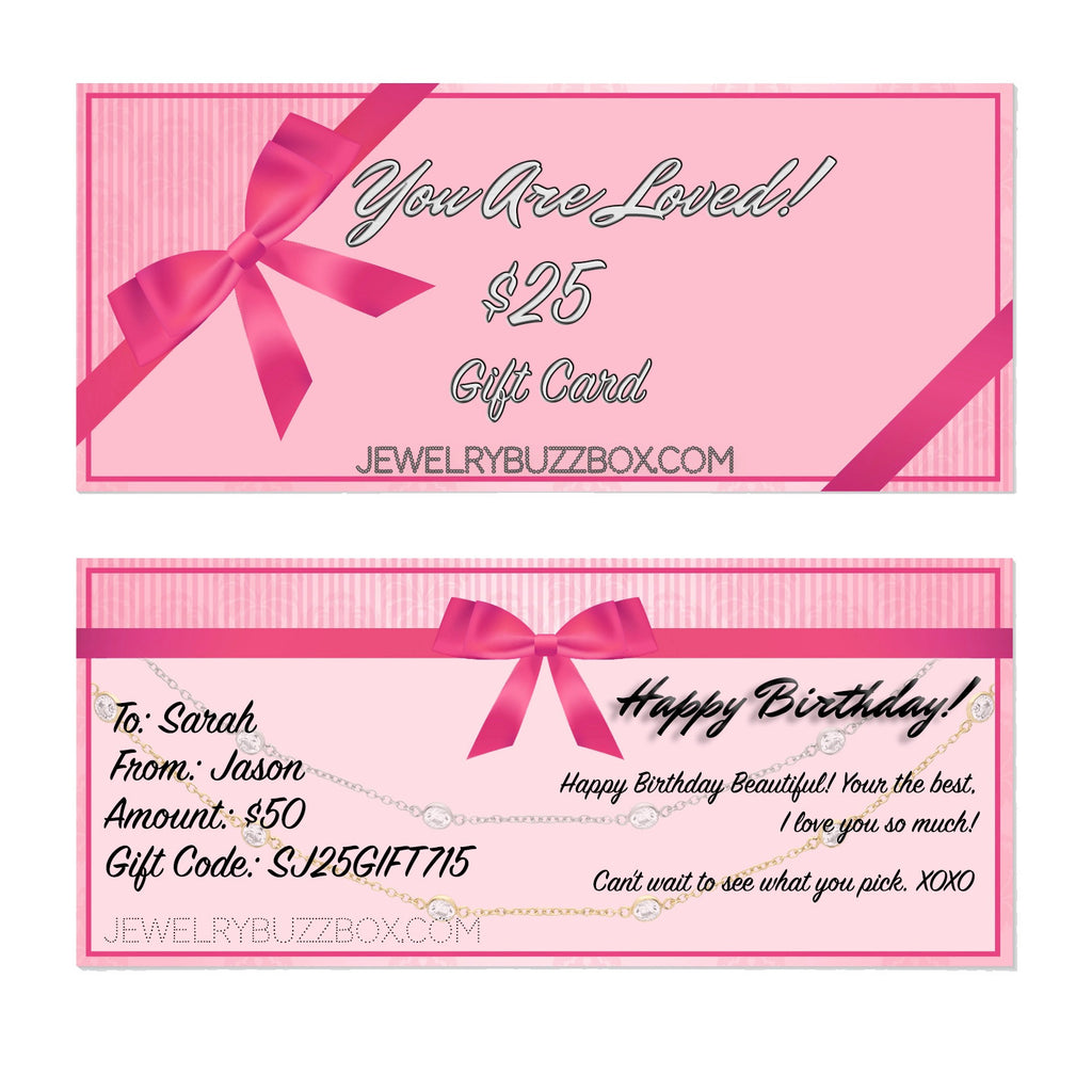 Gift Card - Jewelry Buzz Box  - 2