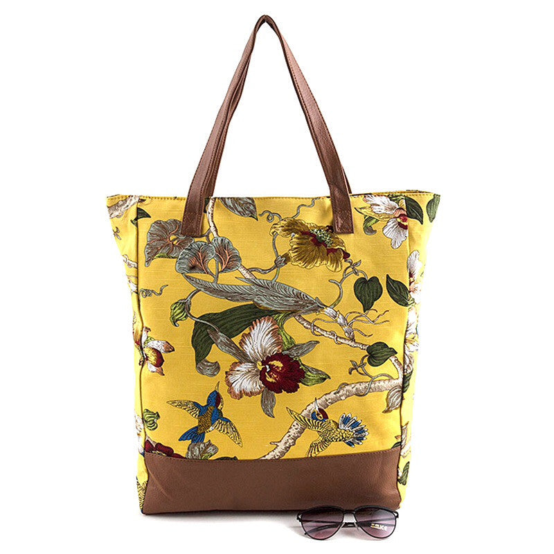 Orchid Tote Bag - Jewelry Buzz Box  - 1