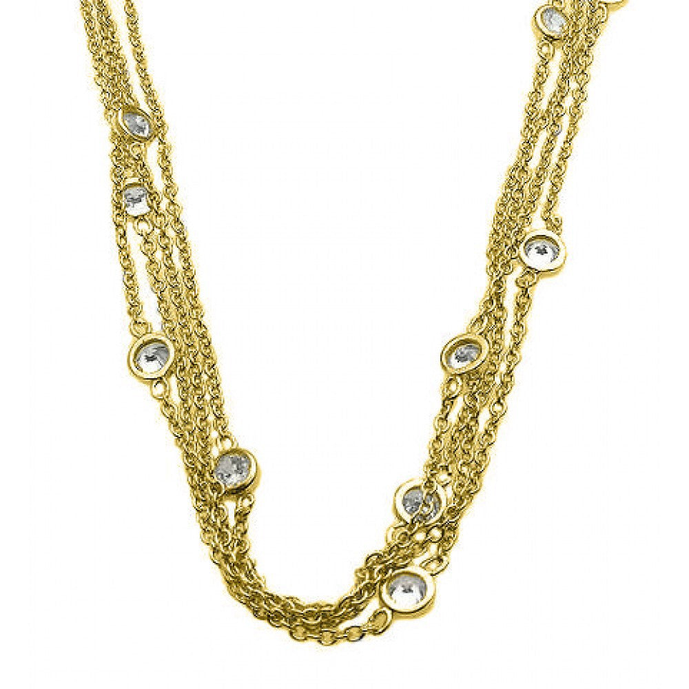 Multiple Chain Necklace - Jewelry Buzz Box  - 2