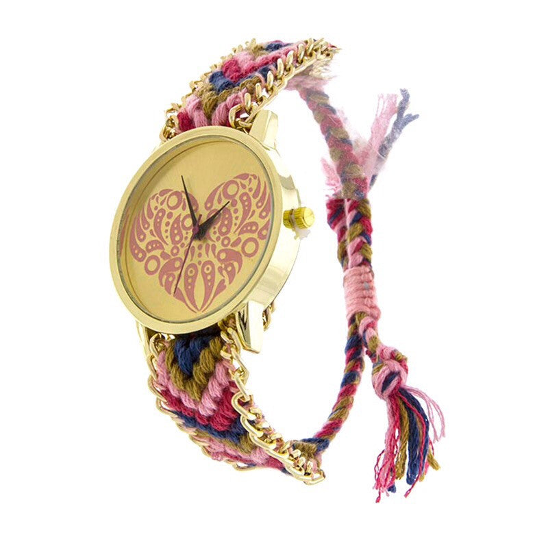 Groovy Heart Watch - Jewelry Buzz Box  - 1