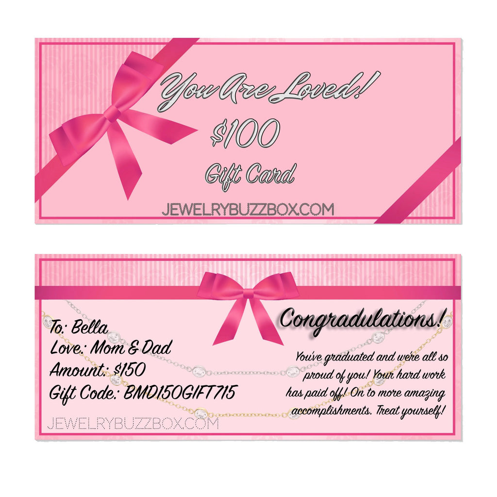 Gift Card - Jewelry Buzz Box  - 3