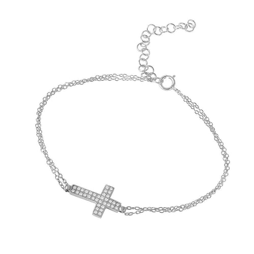 Cross Bracelet - Jewelry Buzz Box