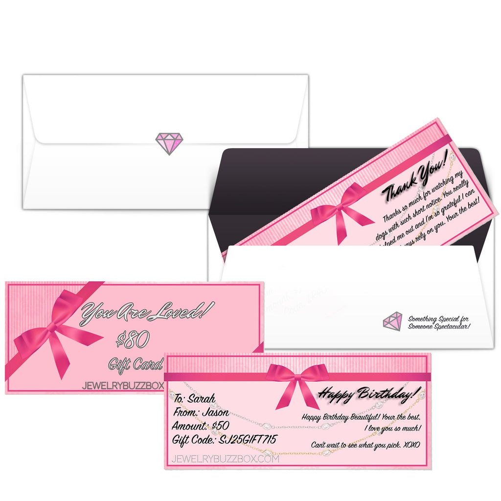 Gift Card - Jewelry Buzz Box  - 1