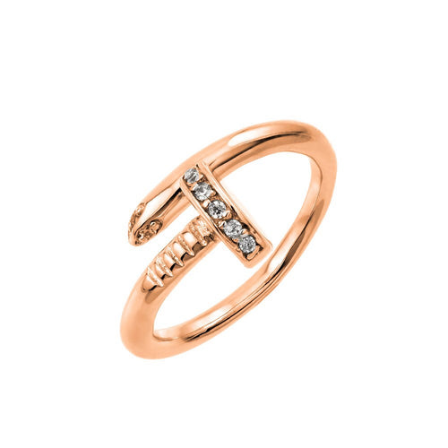 Nailed Ring - Jewelry Buzz Box  - 2