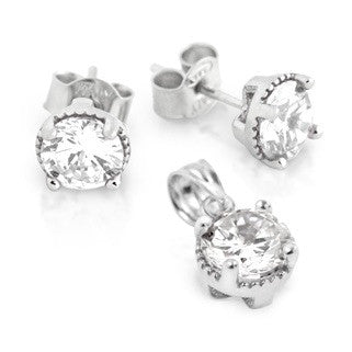 Clear BirthStone Earring - Jewelry Buzz Box  - 1
