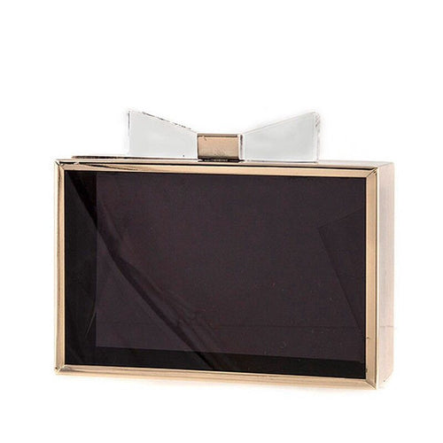 Bow Clutch - Jewelry Buzz Box  - 1