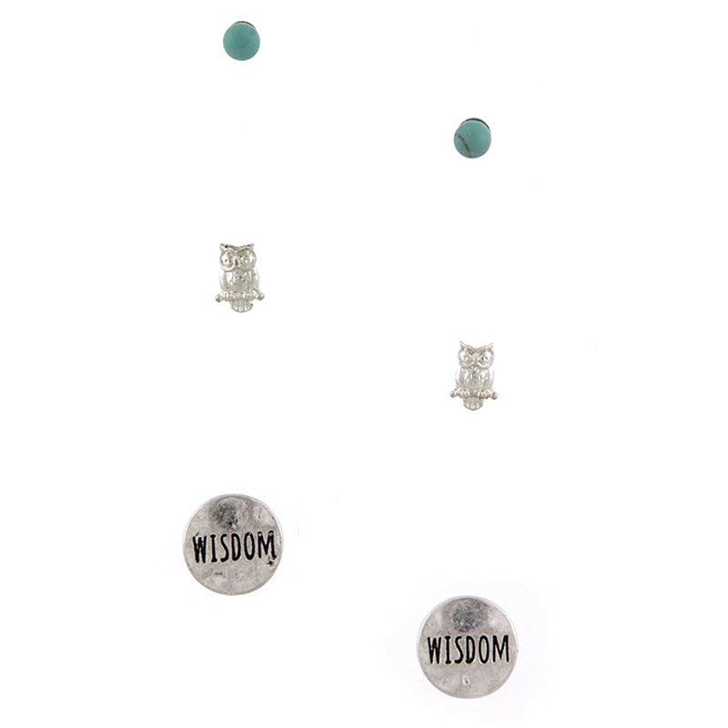 Wisdom Earrings - Jewelry Buzz Box  - 2
