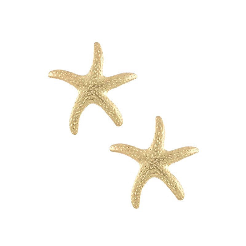 Ninja Starfish Earrings - Jewelry Buzz Box  - 1