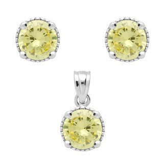 Citrine Yellow Birthstone Earring - Jewelry Buzz Box  - 2