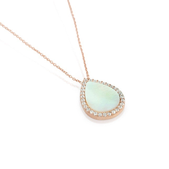 Mother of Pearl Necklace - Jewelry Buzz Box  - 2