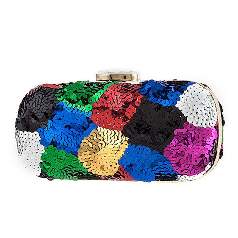 Prismatic Clutch Bag - Jewelry Buzz Box  - 1
