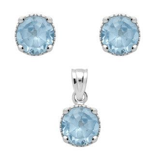 Aquamarine Birthstone Set - Jewelry Buzz Box  - 2