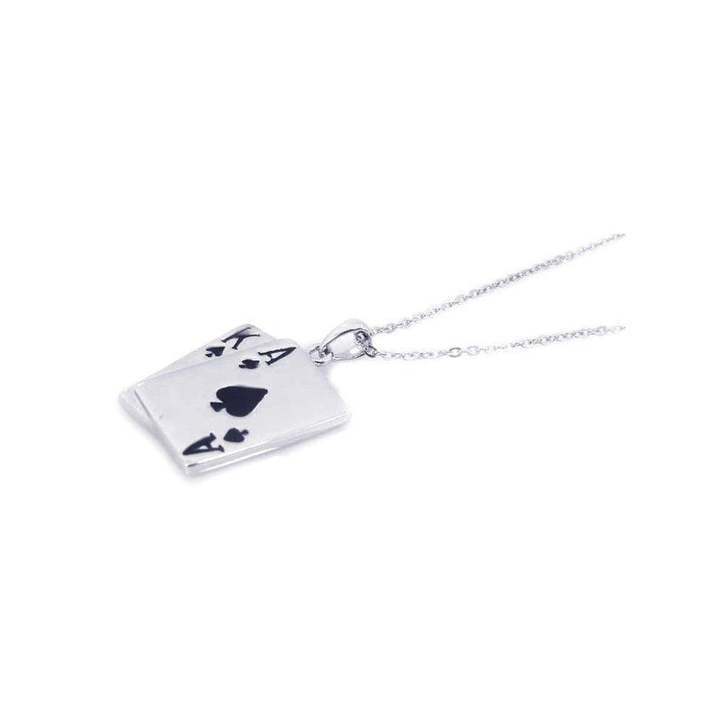 Black Jack Necklace - Jewelry Buzz Box