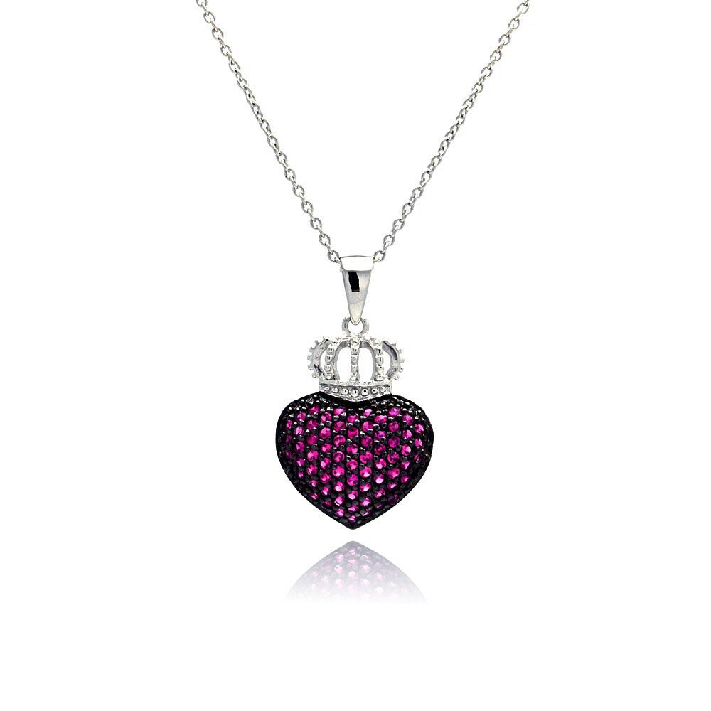 Queen Heart Necklace - Jewelry Buzz Box