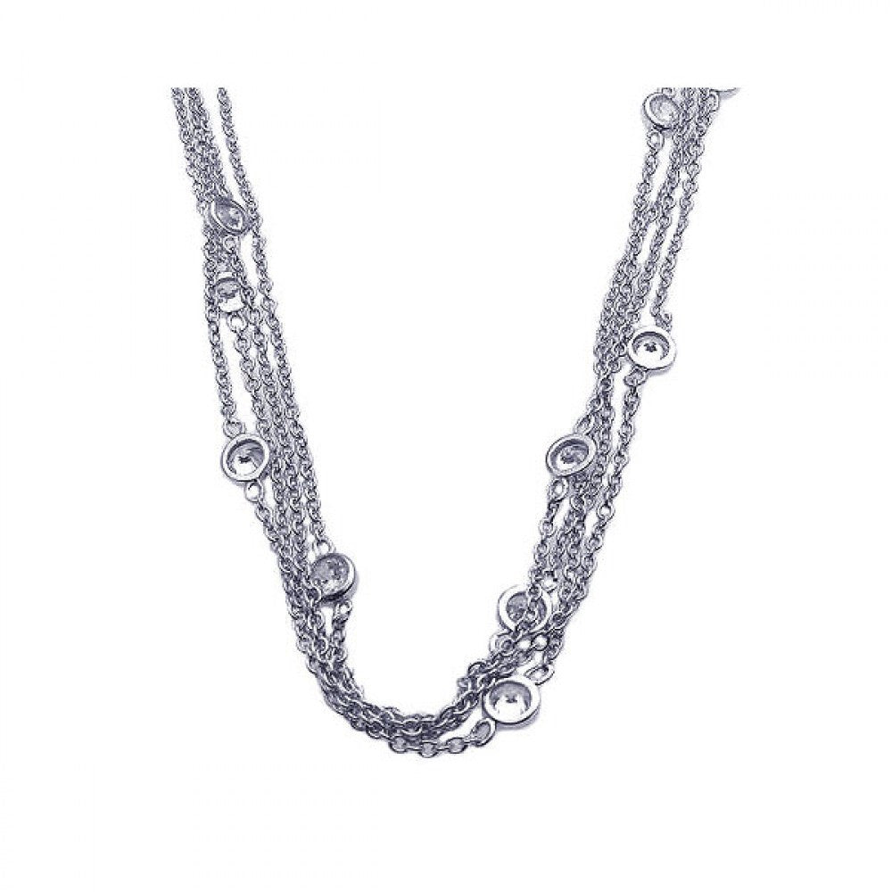 Multiple Chain Necklace - Jewelry Buzz Box  - 1