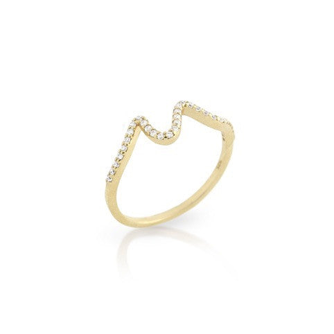 The Wave Ring - Jewelry Buzz Box  - 3
