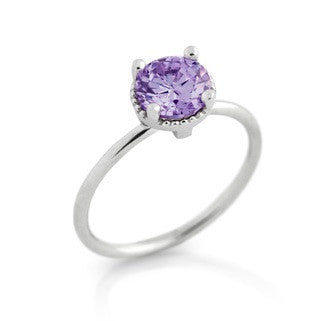 June Alexandrite Birthstone Ring - Jewelry Buzz Box  - 1