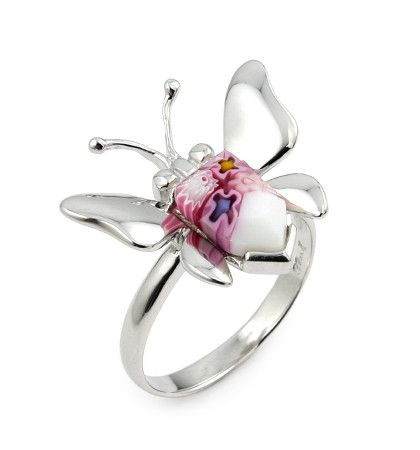 Butterfly Silver Ring - Jewelry Buzz Box  - 1