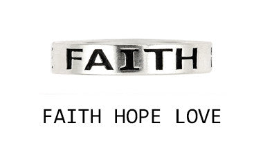 Faith, Hope, Love Ring - Jewelry Buzz Box  - 2