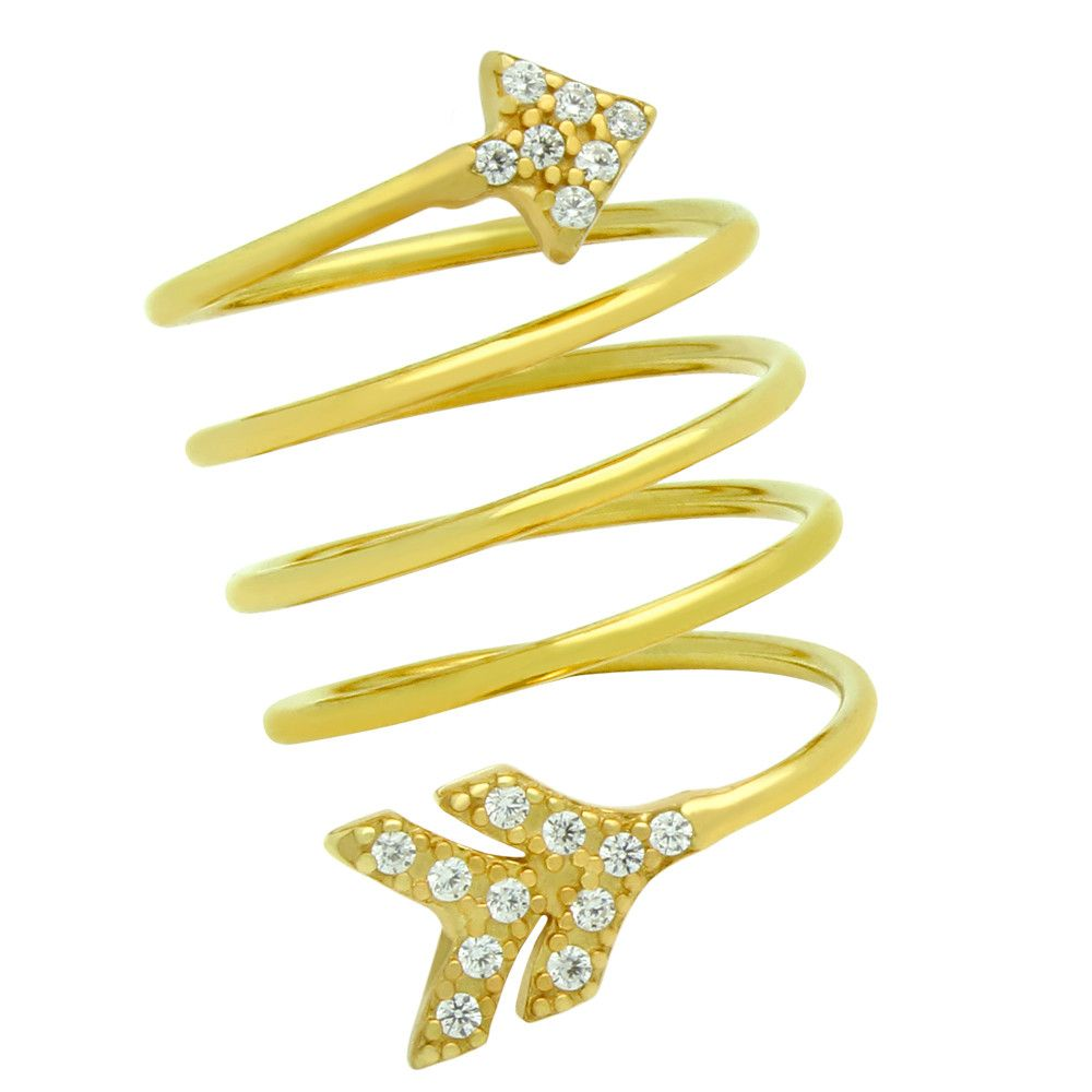 Arrow Spiral Ring - Jewelry Buzz Box  - 5
