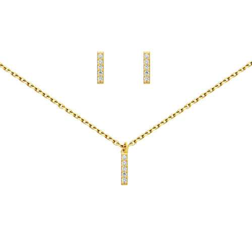 Barbarella Necklace & Earring Set - Jewelry Buzz Box  - 2
