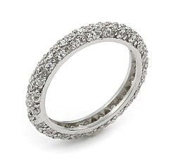 Bling Eternity Ring - Jewelry Buzz Box