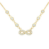 Infinity Necklace - Jewelry Buzz Box  - 1