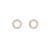 Open Circle Studs - Jewelry Buzz Box  - 1