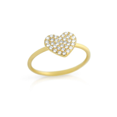 Honey Heart Ring - Jewelry Buzz Box  - 2