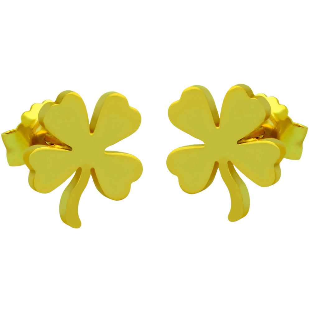 Clover Earrings - Jewelry Buzz Box  - 2