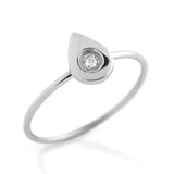 Diamond Drop Ring - Jewelry Buzz Box  - 1