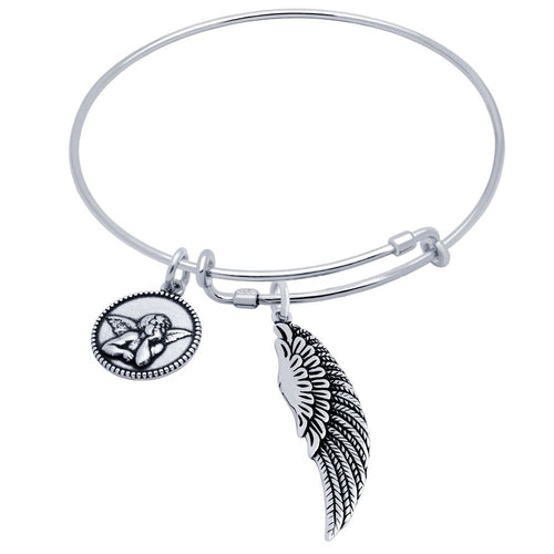 Angel Charm Bracelet - Jewelry Buzz Box  - 2