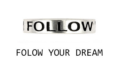 Follow Your Dream Ring - Jewelry Buzz Box  - 2