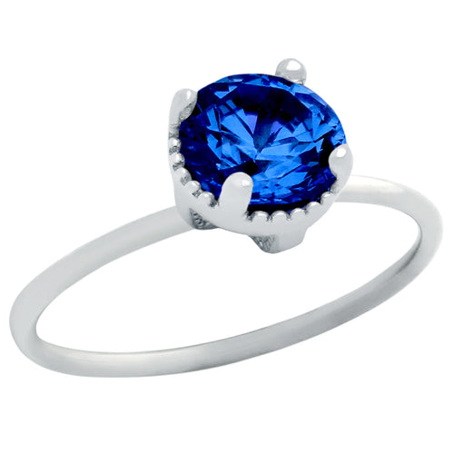 Deep Blue Ring - Jewelry Buzz Box  - 1