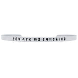 You Are My Sunshine Cuff - Jewelry Buzz Box  - 2