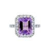 Amazing Amethyst Ring - Jewelry Buzz Box  - 1