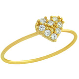 Cute Heart Stackable Ring - Jewelry Buzz Box  - 4