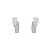 Sterling Swivel Hoop Earrings - Jewelry Buzz Box  - 4