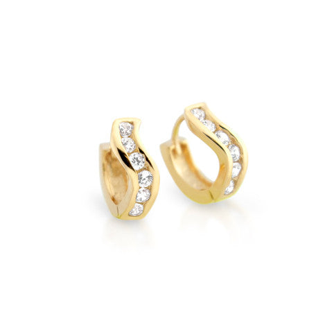 Sterling Swivel Hoop Earrings - Jewelry Buzz Box  - 5