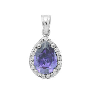 Superior Teardrop Pendant - Jewelry Buzz Box  - 1
