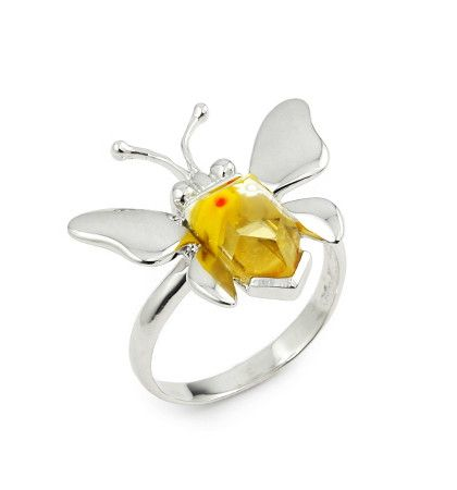 Butterfly Silver Ring - Jewelry Buzz Box  - 3