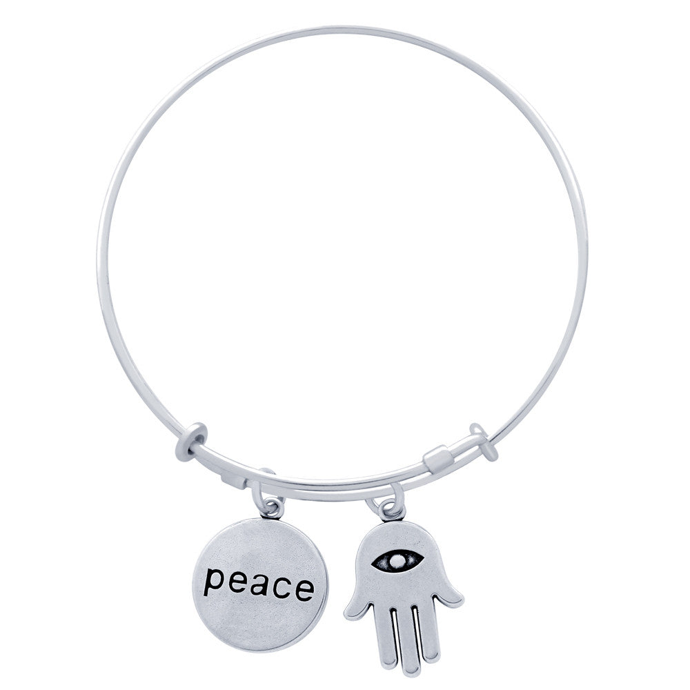 Peace Expandable Bracelet - Jewelry Buzz Box  - 2